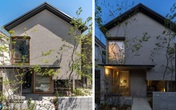 Căn nhà phố với mặt tiền tối giản nhưng đem lại sự hài hòa đến bất ngờ ở Nhật Bản