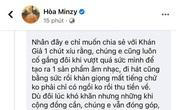 Hòa Minzy nhận được nhiều lời khen khi nêu quan điểm về chuyện 'khán giả nuôi nghệ sĩ'