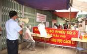 Hình ảnh bầu cử tại khu phong tỏa ổ dịch Gốc Mít Hải Dương