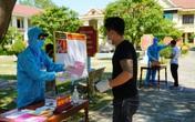 Những phiếu bầu trong khu cách ly tại tỉnh Quảng Bình