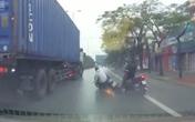 Thót tim những pha thoát chết thần kỳ trong tai nạn giao thông, nạn nhân hoảng loạn không tin mình còn sống