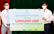 Bộ Y tế tiếp nhận 125 tỷ đồng, 1 triệu USD và 1 triệu liều cho Quỹ mua vaccine COVID-19