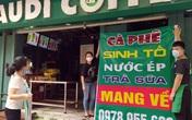 """Quán ăn, nhà hàng, cà phê tại Hà Nội hối hả dọn dẹp, treo biển """"bán mang về"""" lúc 12h trưa nay"""