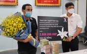 Quyền Linh và người yêu lan ủng hộ 2 tỷ đồng cho Bắc Giang và Bệnh viện K