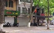 """Nhiều """"phố cà phê"""" Hà Nội vắng như Tết sau lệnh cấm bán hàng"""