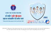 """Bộ Y tế phát động trực tuyến Cuộc thi Tuyên truyền """"Vì một Việt Nam sạch khuẩn từ đôi tay"""""""