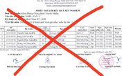 Làm việc với 2 cá nhân lan truyền phiếu xét nghiệm giả ở Nghệ An