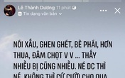 Ngô Kiến Huy bỗng đăng status 'đá xéo' ai đó ghen ghét, bè phái giữa lúc dàn sao Running Man Việt mùa 2 gây tranh cãi?