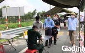 Hình ảnh ngày đầu tái lập chốt kiểm soát phòng chống dịch COVID-19 ở Quảng Ninh