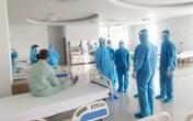 Điều xe chuyên dụng đưa 200 bệnh nhân từ BV Bệnh nhiệt đới T.Ư tại Hà Nội về BV Bạch Mai ở Hà Nam
