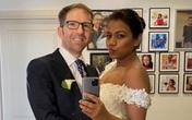 Cô gái xinh đẹp kết hôn với người đàn ông cứu sống mình