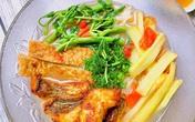 Cách nấu bún cá chiên ngon tuyệt