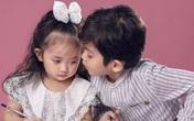Hai nhóc tì nhà Khánh Thi - Phan Hiển như bản sao của bố mẹ