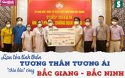 Hơn 2,5 tỷ đồng gửi tới tuyến đầu chống dịch Bắc Giang, Bắc Ninh