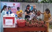 Phiên chợ nghĩa tình dành tiền ủng hộ Quỹ vaccine phòng COVID-19 ở Quảng Trị