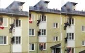 """3 đứa trẻ mắc kẹt trong căn hộ bốc cháy ngùn ngụt, hàng xóm không đợi cứu hỏa đến mà """"tự xử"""" tạo ra cảnh tượng thót tim"""