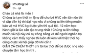 Liên tục đăng bài chỉ trích Phi Nhung và đòi quyền lợi cho Hồ Văn Cường, Hoa hậu Phương Lê bất ngờ kêu gọi mọi người ngưng bàn luận vì lý do này