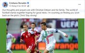 Sau pha ngưng tim của tiền vệ Eriksen, Ronaldo có hành động khiến triệu fan nức lòng, Thủ tướng Anh nhận được thư yêu cầu phải làm ngay việc này