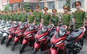 Trộm đột nhập lấy 2 xe máy chuyên dụng trong trụ sở công an
