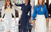 Nổi tiếng vì style sang trọng, Hoàng hậu Jordan còn khéo phối đồ ''hack'' dáng siêu chuẩn