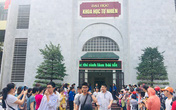 Trường THPT Chuyên Khoa học Tự nhiên, Khoa học giáo dục công bố điểm chuẩn vào lớp 10