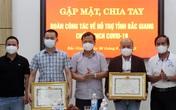 Đoàn chi viện của Bệnh viện Trung ương Huế và Bệnh viện C Đà Nẵng chia tay Bắc Giang