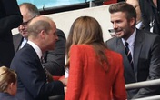 Dân mạng phát sốt trước hình ảnh vợ chồng Hoàng tử William, Công nương Kate hội ngộ cựu danh thủ David Beckham