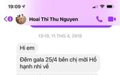 Vy Oanh bị nghi photoshop ảnh tin nhắn bằng chứng tố Hoa hậu Thu Hoài vì chi tiết này