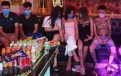 Bất chấp quy định phòng dịch, nhóm thanh niên vẫn tụ tập sử dụng ma tuý