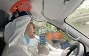 """Chân dung """"bông hồng đẹp"""" tình nguyện lái xe chở bệnh nhân COVID-19"""
