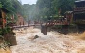 Hình ảnh bản Cát Cát - Sa Pa tan hoang do mưa lũ khiến nhiều người xót xa