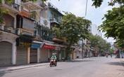 Hình ảnh khu phố cổ Hà Nội vắng tanh như ngày Tết