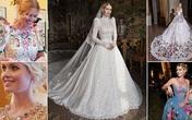 Cháu gái Diana hôn chồng tỷ phú trong tiệc cưới xa hoa