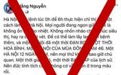 """Mời chủ facebook """"Hằng Nguyễn"""" lên làm việc sau bài đăng về Covid-19"""