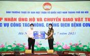 10.000 test nhanh COVID-19 trị giá gần 1 tỷ đồng ủng hộ công tác phòng chống dịch ở Hà Nội