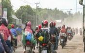 Hàng nghìn người xuyên qua Bình Phước để lên Tây Nguyên