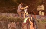 Hà Nội: Nhiều người dân  vượt rào thép gai, trốn khỏi khu vực phong tỏa