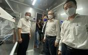 Trao tặng 10 xe xét nghiệm COVID-19 lưu động cho TP Hồ Chí Minh