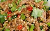 Muốn có thịt bò ngon mềm mà làm siêu nhanh thì phải thử ngay cách làm thịt bò trộn sau
