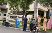 Công an trực chốt mượn bình oxy, ống thở cứu bệnh nhân F0 đang nhập viện
