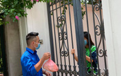 Hà Nội: Độc đáo việc mua bán đồ ăn của người dân vùng phong tỏa vì COVID-19 ở Thanh Trì