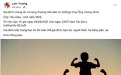 Bố ruột Lam Trường qua đời, Đan Trường - Hồng Ngọc xót xa gửi lời động viên gia quyến