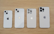 Cận cảnh mô hình 4 chiếc iPhone 13 tại Việt Nam