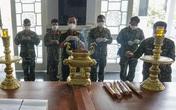 Quân đội làm lễ truy điệu, bàn giao tro cốt người mất vì COVID-19