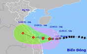 Bão số 5 đang tiến vào đất liền các tỉnh Quảng Trị - Quảng Nam, miền Bắc nắng mạnh 2 ngày cuối tuần