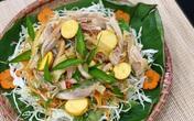 Đơn giản dễ làm món gỏi gà bắp cải