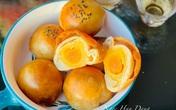 Hoa hậu Ngọc Hân làm bánh Trung thu nghìn lớp