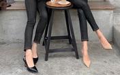 4 kiểu giày giúp làm thon chân