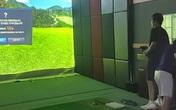Bắt quả tang 25 người chơi golf 3D trong trung tâm thương mại