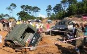Ngày đầu tiên Giải đua xe địa hình Hạ Long: Nhiều gian nan thử thách